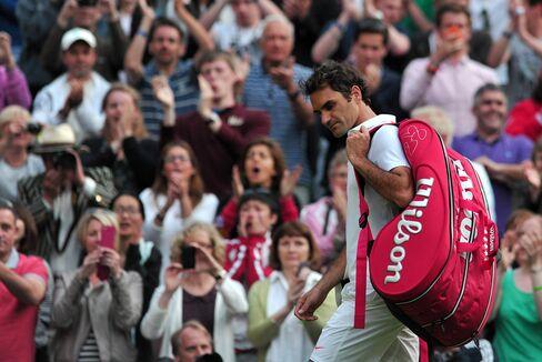 Tennis Player Roger Federer