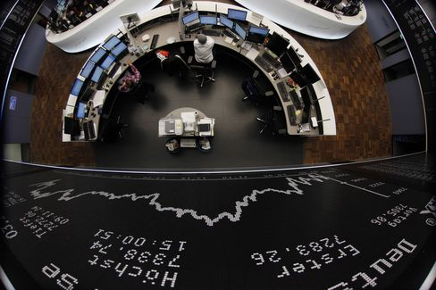 DAX Has Best Year in Nine as ECB Lifts Europe's Profit Champion