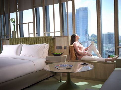 Raffles Place Room Shortage Eases With Parkroyal