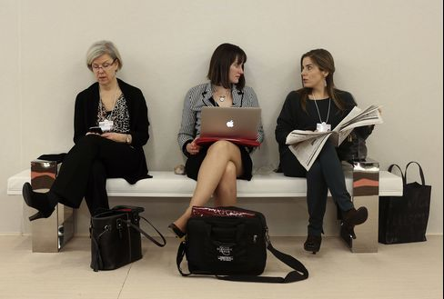 Davos Women Diminished as Male Discussion Skips Essential Views