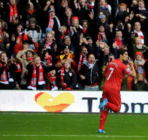 Liverpool Player Luis Suarez