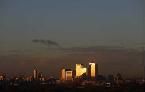 London's Canary Wharf District
