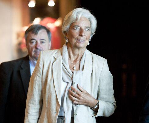 IMF Managing Director Christine Lagarde