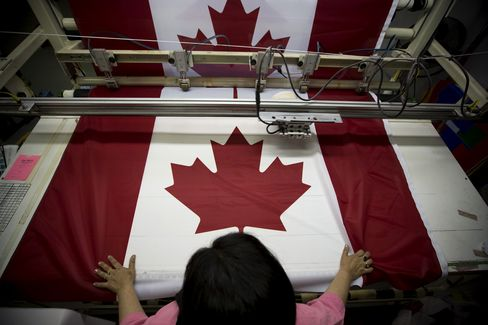 Canada Factories Count on U.S. Pickup to End Recession
