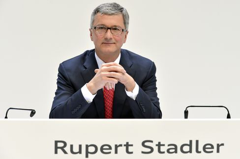 Audi AG Chief Executive Officer Rupert Stadler