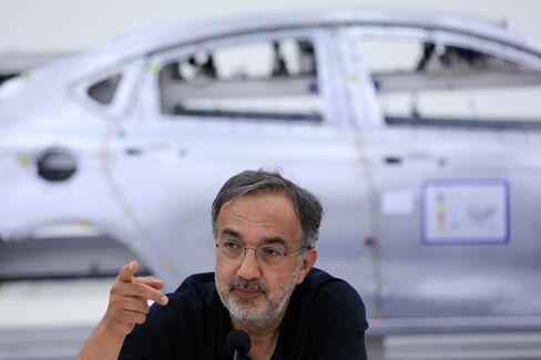 Marchionne Mulls Italian Chryslers to Fix Fiat Mismatch
