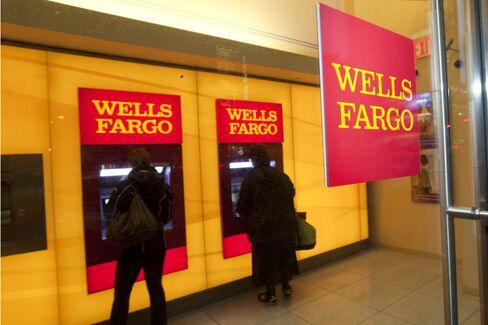Wells Fargo Posts Higher Net Income