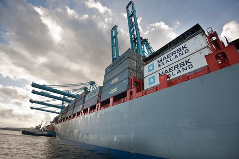 Maersk Only Europe-Asia Shipper Showing Profit