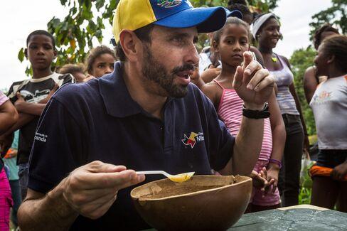 Venezuelan Opposition Governor Henrique Capriles