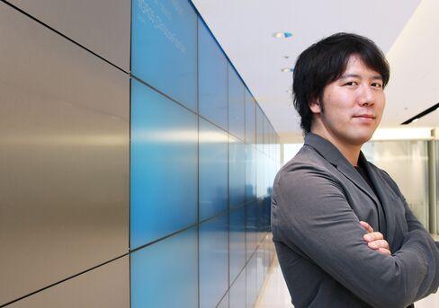 Gree CEO Yoshikazu Tanaka