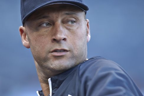 New York Yankees' Shortstop Derek Jeter