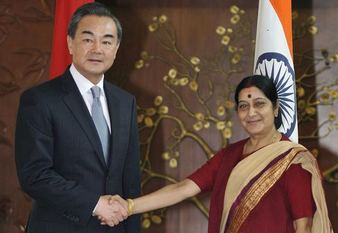 China & India Formal Talks