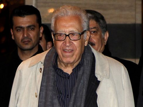 UN Special Envoy Lakhdar Brahimi