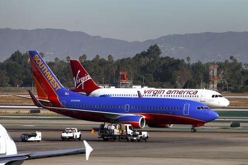 Virgin America Plots Texas Showdown With American-Southwest