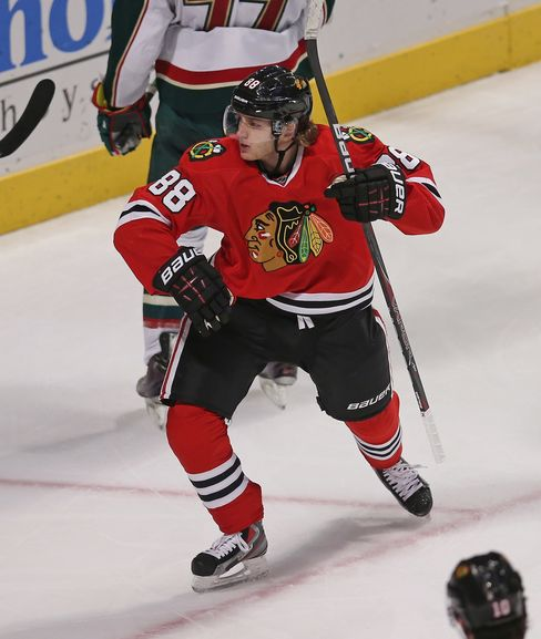 Chicago Blackhawks Player Patrick Kane