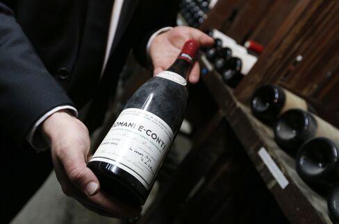 A Bottle of Domaine de la Romanee-Conti