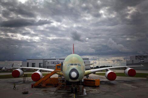 Airbus A380 Production Squeeze Lifts Value of Financier's Fleet