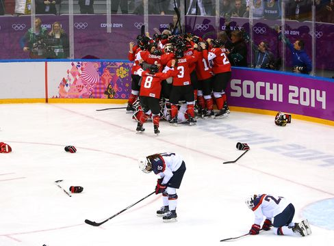 Canada Defeats U.S.