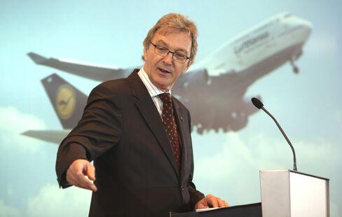Lufthansa Former CEO Wolfgang Mayrhuber