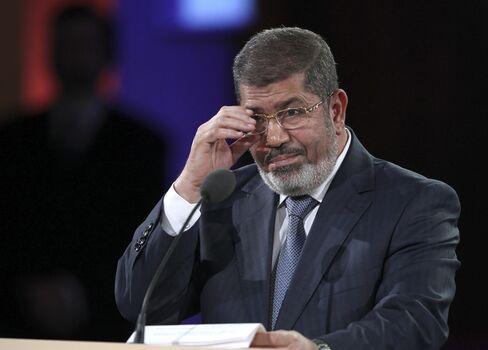 Egypt's President Mursi