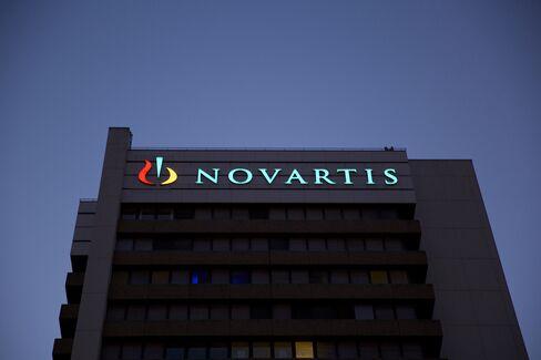 Novartis AG Headquarters Stand in Basel