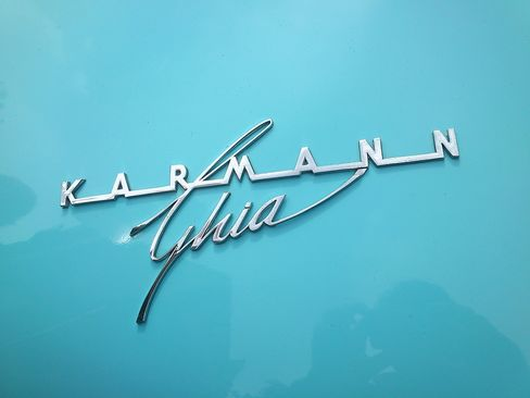 The solid platform of the Volkswagen Beetle was the foundation for the Italian styling of the Karmann Ghia.