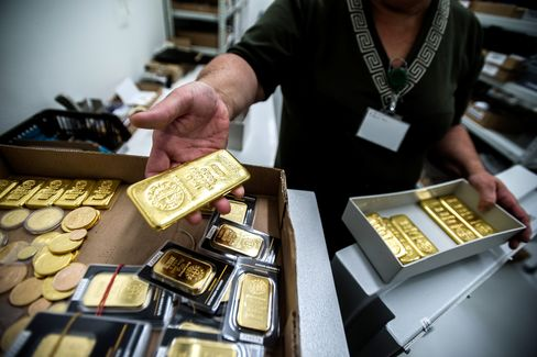 Hedge Funds Cut Gold Bets as Goldman Lowers Outlook