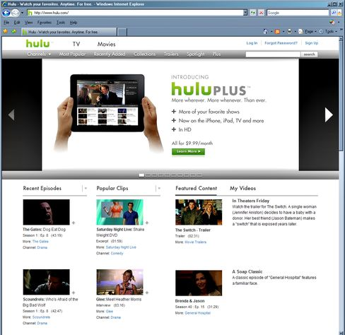 Microsoft Said to Drop Out of Auction for Hulu