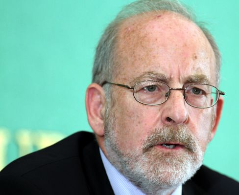 Ireland's Central Bank Governor Patrick Honohan