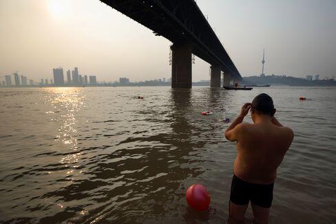 River in Wuhan
