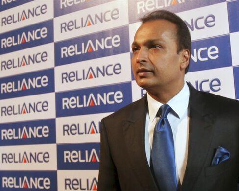 Reliance Power Ltd. Chairman Anil Ambani