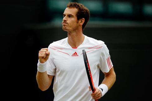 Murray Says He's in Good Position to End U.K. Wimbledon Drought