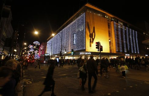 John Lewis Starts U.K. Holiday Reporting With 15% Jump in Sales