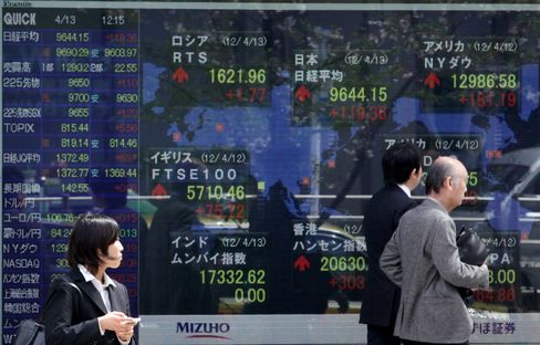 Asian Stocks Head for Worst Month Since 2008