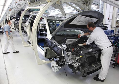 Volkswagen, BMW Feel Pinch, Suppliers Struggle to Keep Pace