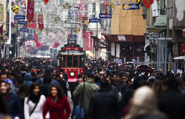 Istanbul might not be immune to the troubles in Ukraine.Photographer: Kerim Okten/Bloomberg