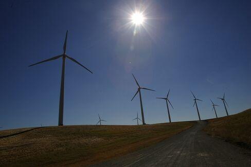 General Electric wind turbines