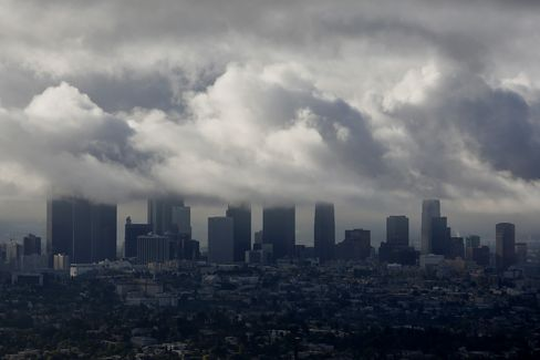 Storm Clouds over L.A.