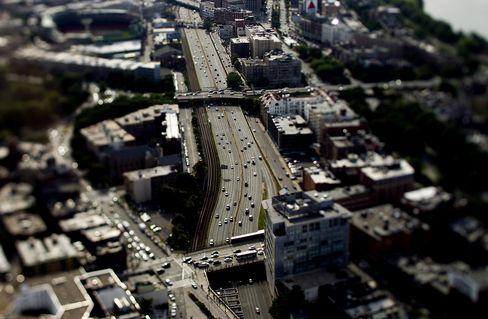 American Miles Driven Seen Fair Way Paying for Highways: Taxes