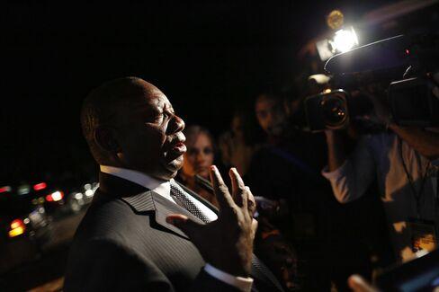 ANC Deputy President Cyril Ramaphosa