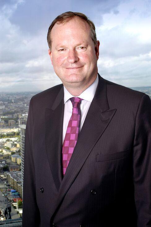 Barclays Plc Finance Director Chris Lucas