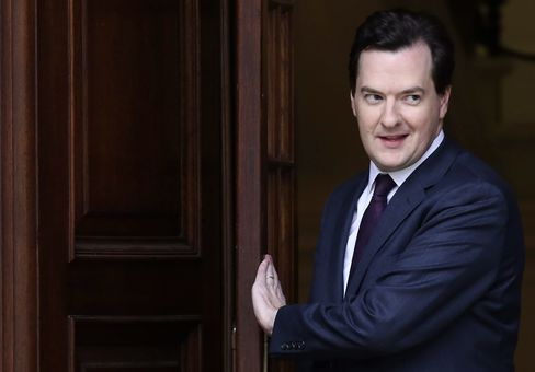 U.K. Chancellor of The Exchequer George Osborne