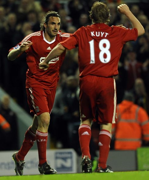 Sotirios Kyrgiakos and Dirk Kuyt