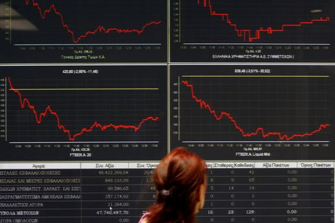 Hedge Funds Try to Profit From Greece