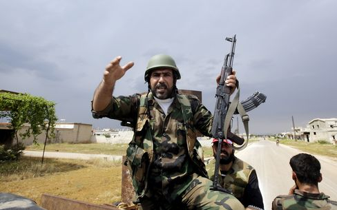 Syrian Army Gains Against Rebels Signal Assad to Maintain Power