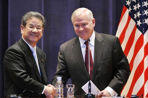 Kitazawa, Gates Pledge Ties Amid North Korea Threat