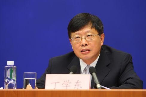 China Investment Corp.'s Chairman Ding Xuedong