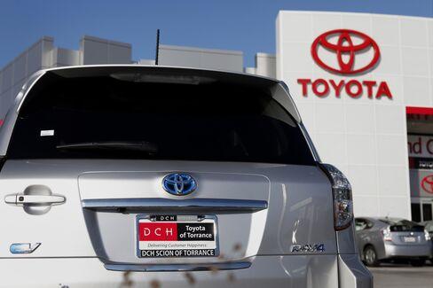 Toyota Rav4 Electric Vehicle