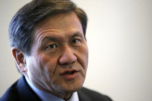 Former Mongolia President Nambaryn Enkhbayar