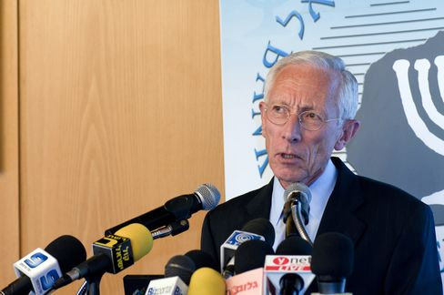 Stanley Fischer, governor of the Ban